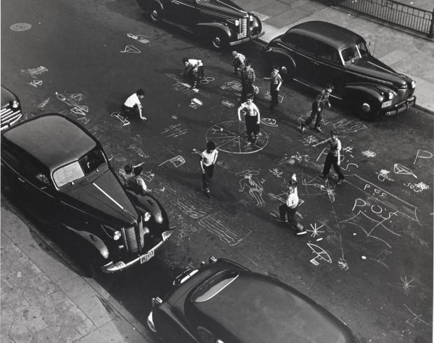 #3 Chalk Games, 1950
