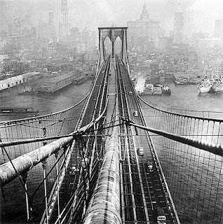 #6 Brooklyn Bridge, 1946