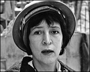 Helen Levitt, circa 1963, while producing the film An Affair of the Skin by Ben Maddow.
