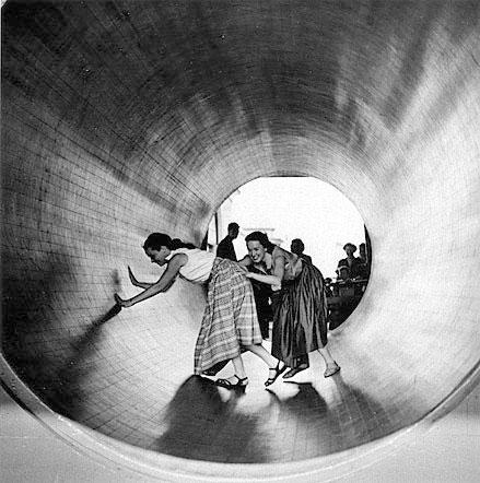 #1 Turning Barrel, 1952