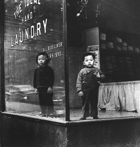 Ideal Laundry, 1946 ©Arthur Leipzig