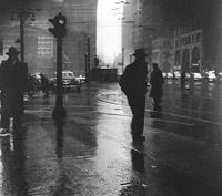Rain, 1945 ©Arthur Leipzig
