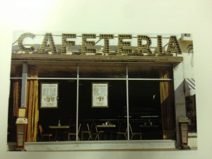 Cafeteria, 20th and Collins Avenue, Richard Nagler (1983)
