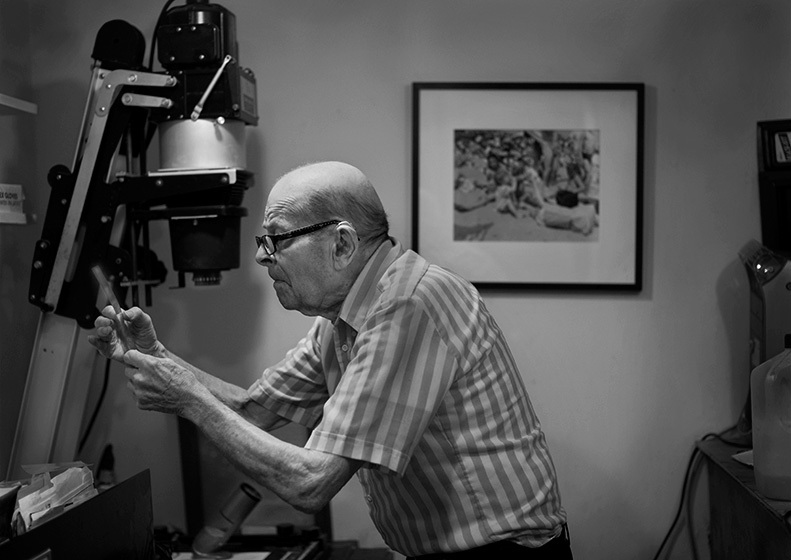 Arthur Leipzig, Photographer ©Nancy Levine