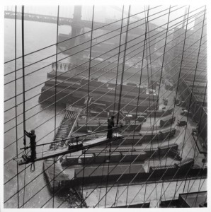Brooklyn Bridge ©Leipzig, 1946
