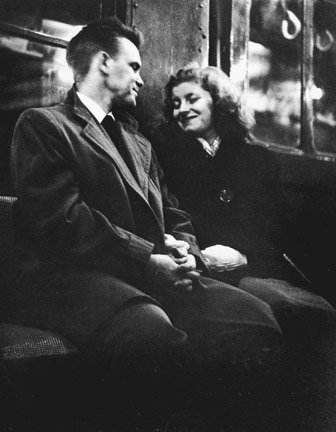 Subway Lovers ©Leipzig, 1949