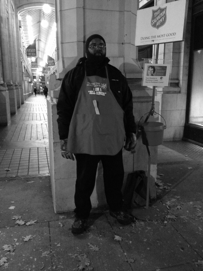 Salvation Army Worker, 2013
