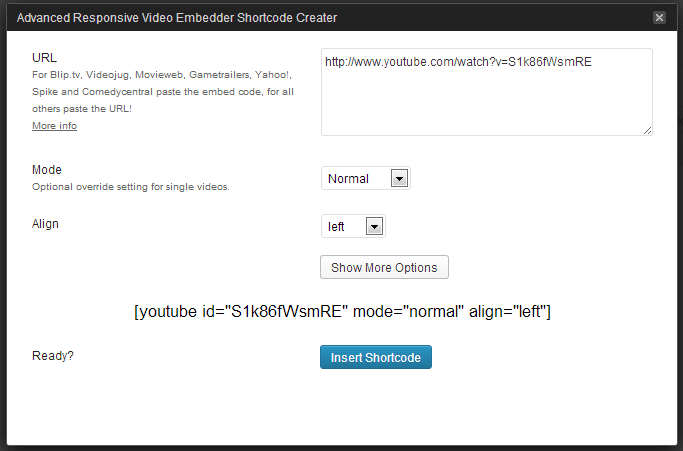 How to set up a video embed