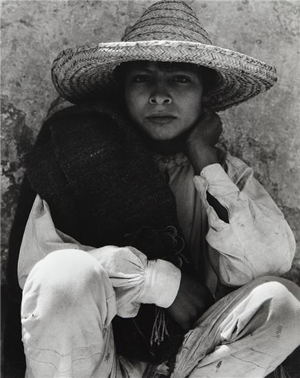 Boy, Hidalgo, Mexico, 1933
