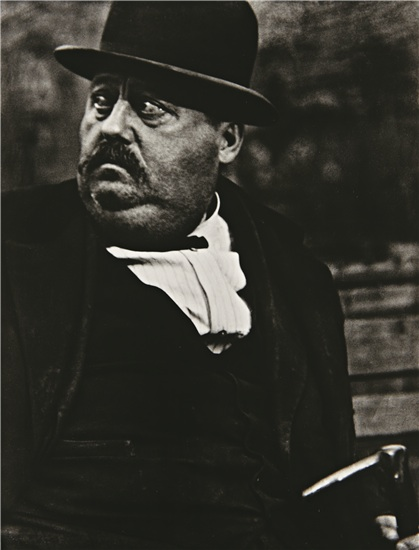 Man in a Derby, New York, 1916